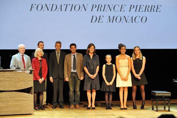 Les lauréats littéraires, musicaux et artistiques 2015 de la Fondation Prince Pierre.