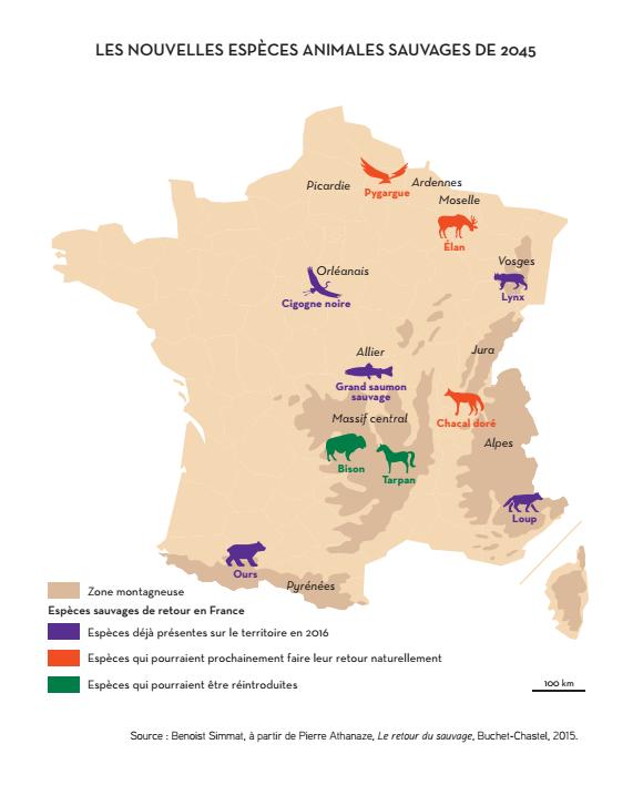 Carte Climat Europe 2050.La France En 2050 Meconnaissable