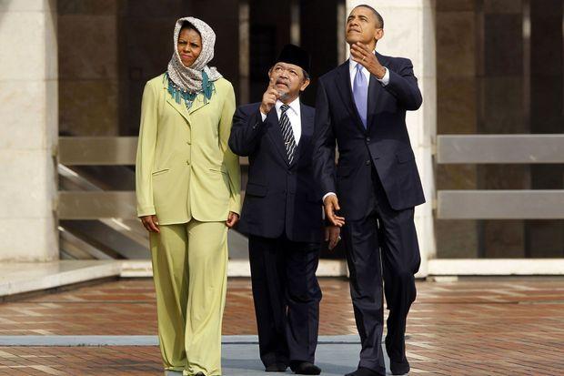 Les Obama en Indonésie