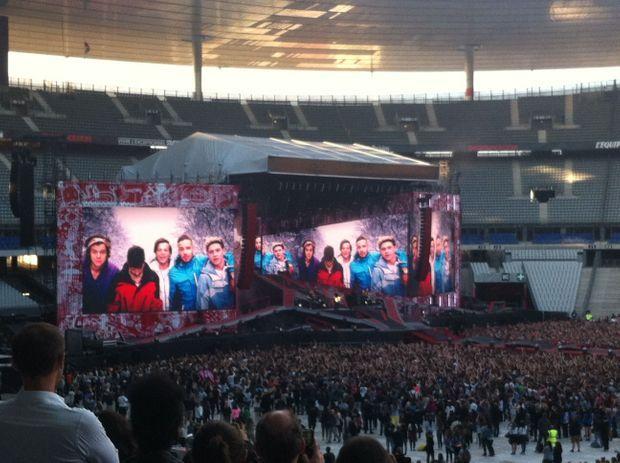 Les One Direction au Stade de France