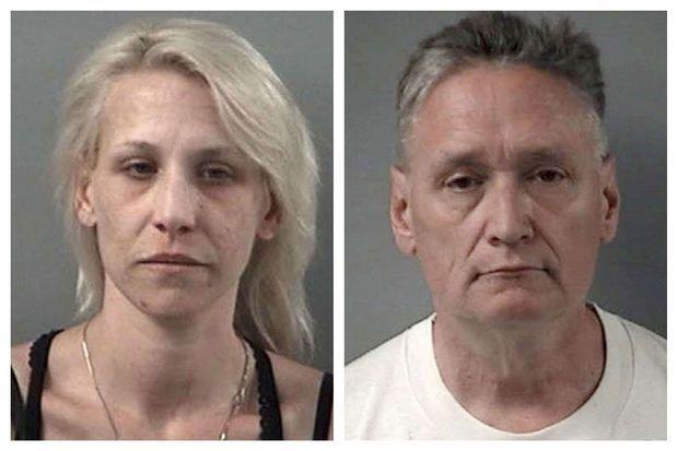 Les parents d'A.J., arrêtés la semaine dernière pour la mort de leur fils de 5 ans.