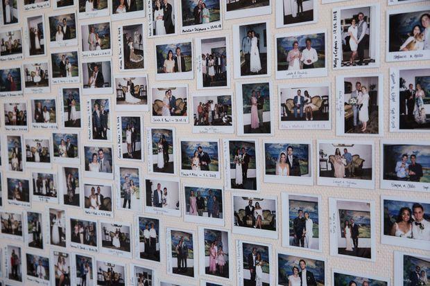 Les photos de tous « leurs » mariés.