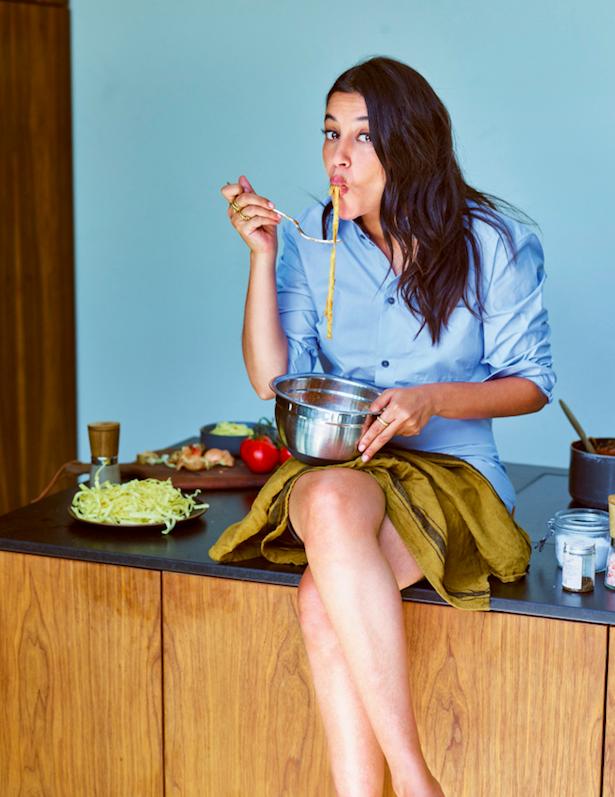 Les régimes? Très peu pour elle. « J'adore cuisiner et surtout qu'il y en ait pour tous les goûts. »