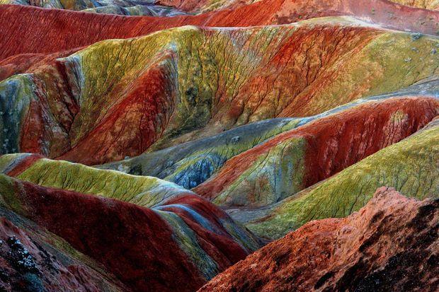 Les roches multicolores de Danxia