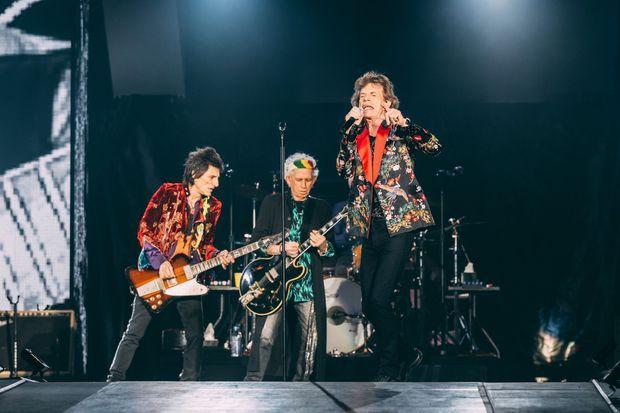 Les Rolling Stones sur scène ont inauguré la nouvelle U Arena de Nanterre.