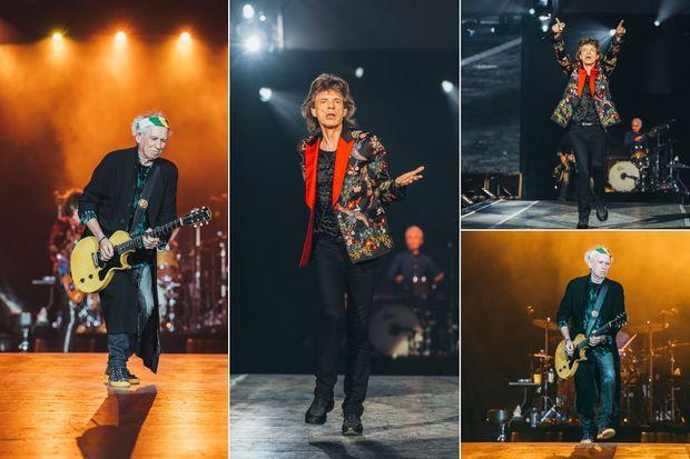 Les Stones ont scotché le public de la U Arena jeudi soir.