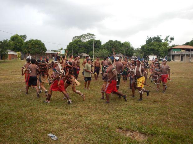 Les Tembé, peuple indigène brésilien.