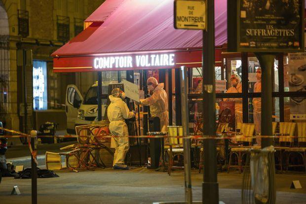 Les terroristes s'en sont pris aussi aux clients des terrasses du XIe arrondissement.