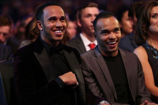Lewis Hamilton et Nicolas.