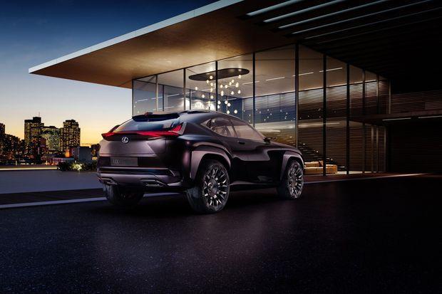 Le concept Lexus UX.