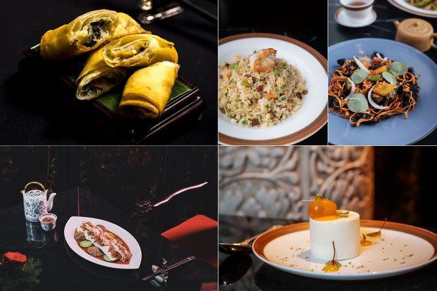 Le menu du Nouvel an chinois du LiLi.