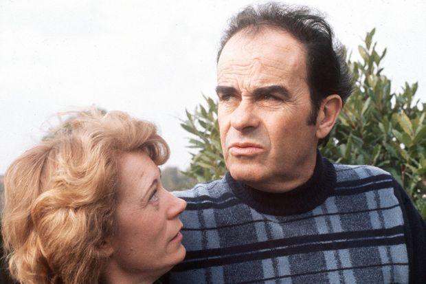 Liliane et Georges Marchais en 1975.