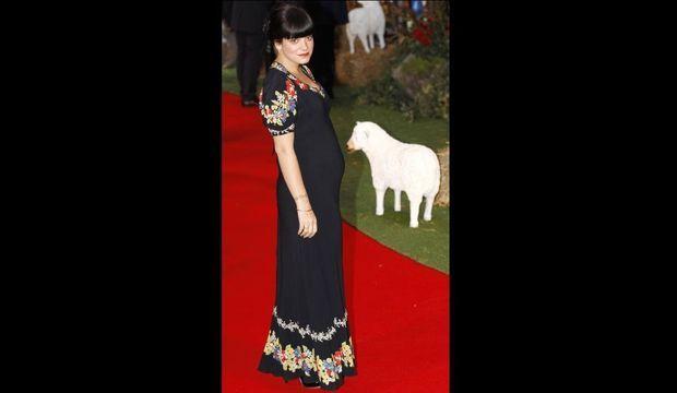 Lily Allen enceinte-