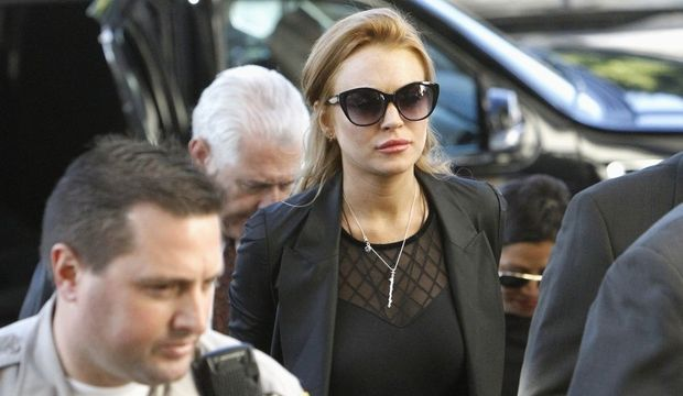 Lindsay Lohan au tribunal de Los Angeles-