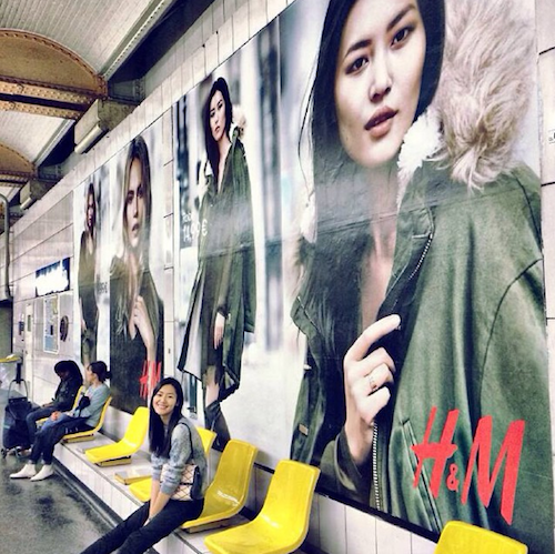 Liu Wen, égérie H&M