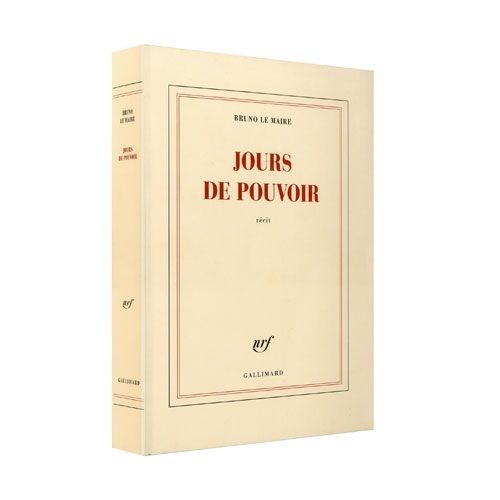 Livre Bruno Le Maire-