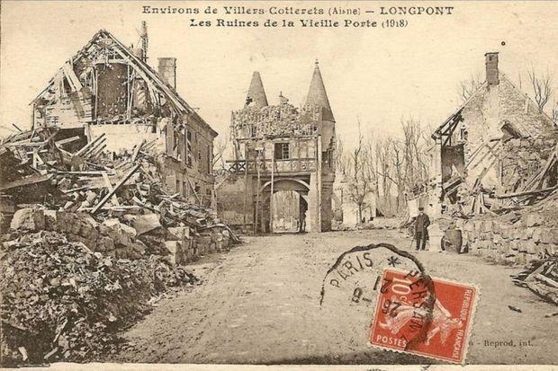 Longpont après la Première guerre mondiale.