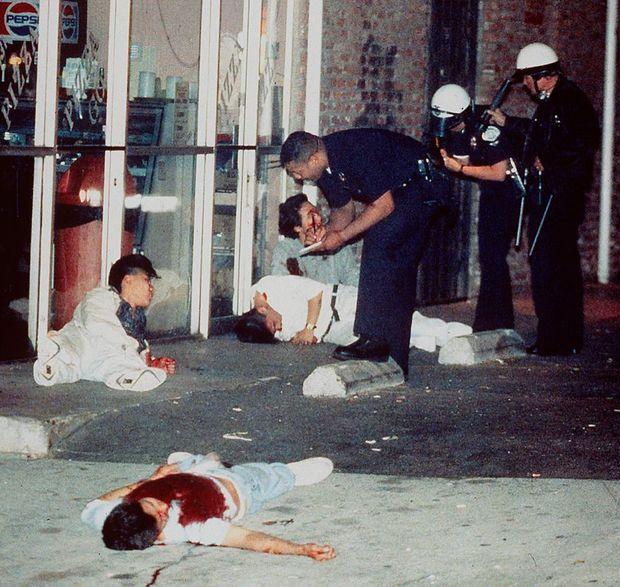 Scène de carnage à Koreatown.