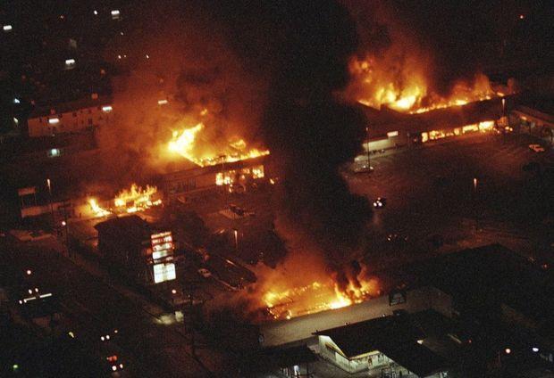 South Central en feu, 29 avril 1992.