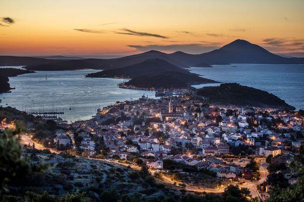 L'île de Lošinj.