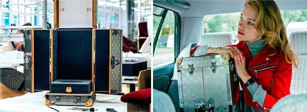 Les artisans des ateliers historiques Louis Vuitton, à Asnières, ont réalisé l'écrin pour la Fifa. La boîte est en titane, monogrammée LV ; les huit coins sont revêtus de cuir naturel et les six fermoirs sont en ruthénium – dont le symbole chimique est Ru, en hommage à la Russie.