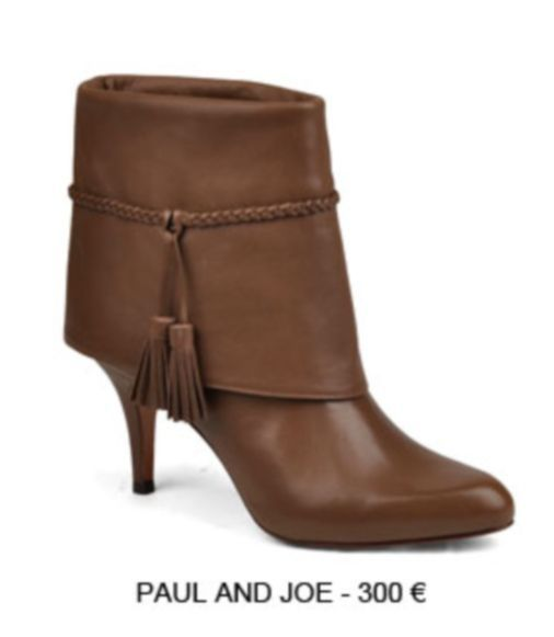low boots gold-