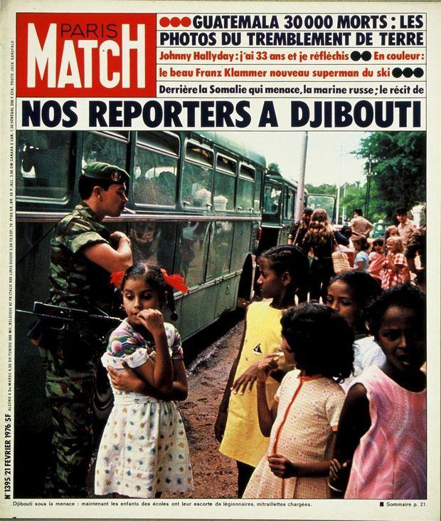 La couverture du Paris Match n°1395, 21 février 1976.