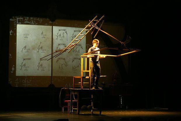 Luc Langevin sur scène