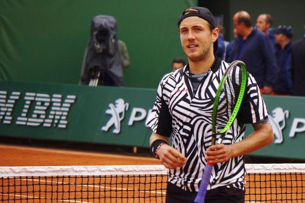 Lucas Pouille, à Roland-Garros mardi
