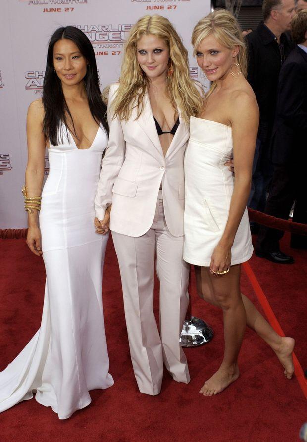 Lucy Liu, Drew Barrymore and Cameron Diaz-