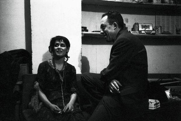"""Première de la pièce """"Les possédés"""" mise en scène par Albert Camus au théâtre Antoine à Paris."""