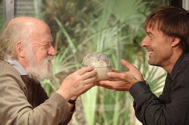 Pour Hubert Reeves et Nicolas Hulot, le monde est petit.
