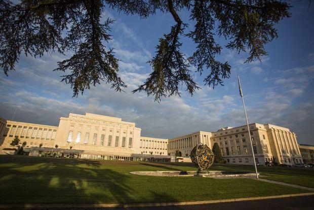 Le palais des Nations à Genève