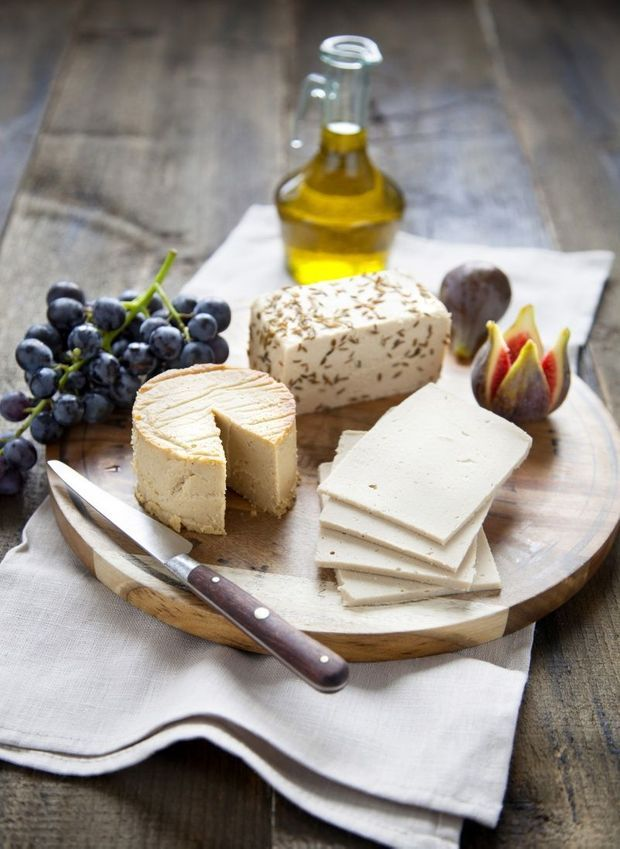 Du fromage ? oui, mais 100 % végétal, à base de noix de cajou, sésame, crème de soja...