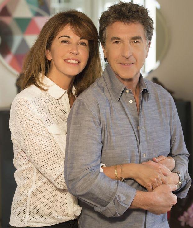 """François Cluzet avec Narjiss, la femme qui lui a """"redonné le goût du bonheur"""""""