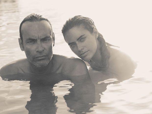 Quarante-cinq ans après « La piscine », il y a toujours quelque chose d'Alain dans les yeux d'Anthony et d'Alyson.