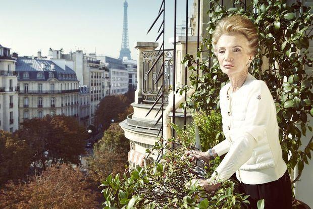 So chic… Une Parisienne comme seules savent encore l'être les Américaines.