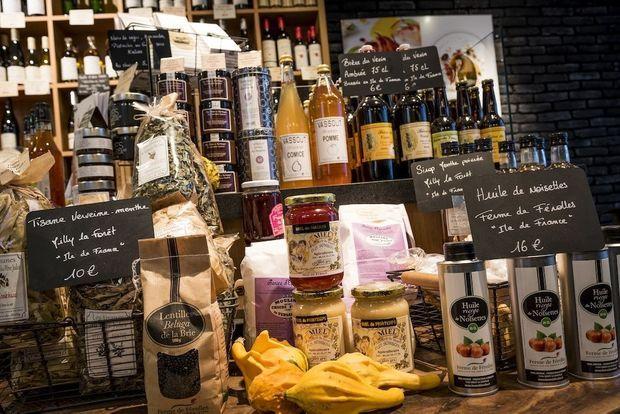L'Epi Malin, près du restaurant de François Pasteau, produits gourmands d'Ile-de-France.