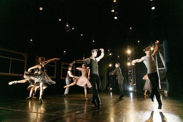 Danse : Alexei Ratmansky et Myles Thatcher.