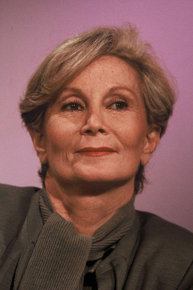 Madame Claude au journal télévisé de TF1, en mai 1989.