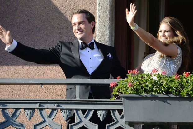 Madeleine et Chris, les futurs époux