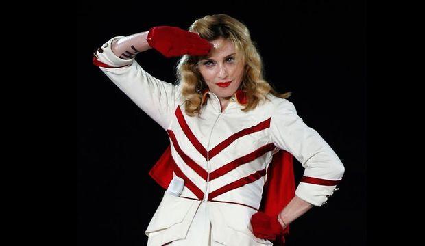Madonna à Nice-