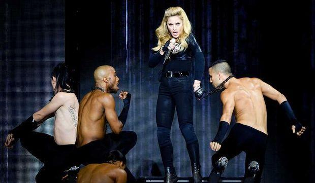 Madonna en concert-