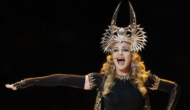 Madonna superbowl 2012-