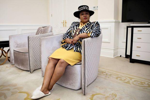 Maesaiah Thabane, l'épouse du Premier ministre lésothien.