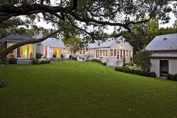 La maison du couple en Californie, qu'ils viennent de vendre pour en acquérir une plus grande... après leur séparation.