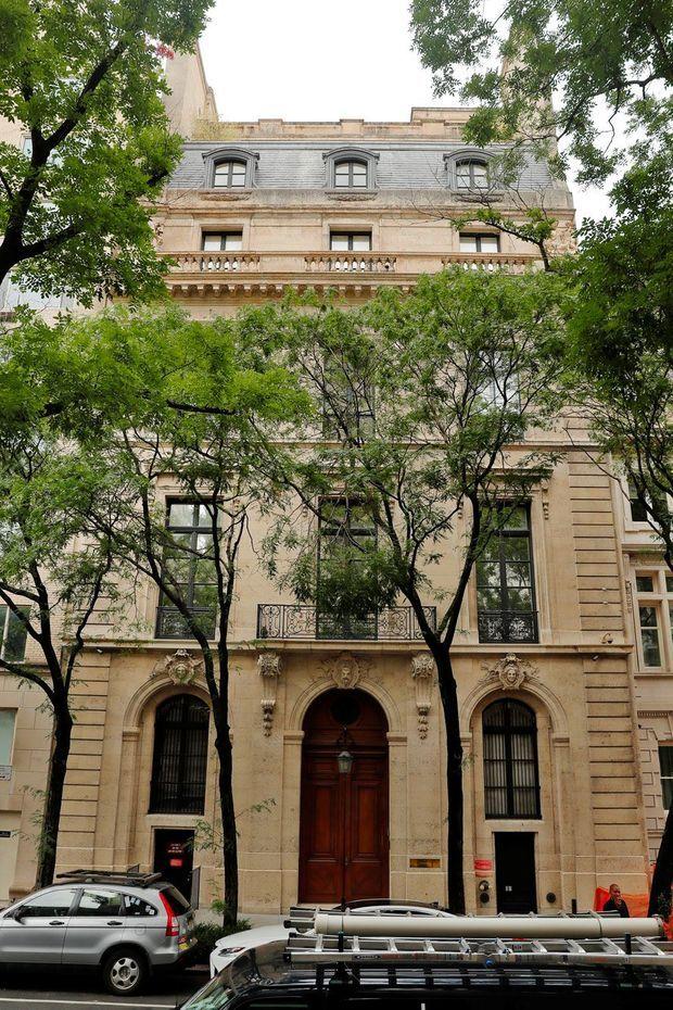 La grande maison de ville de Jeffrey Epstein à Manhattan, à quelques pas de Central Park.