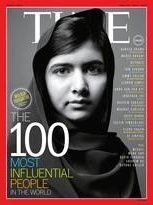 Malala couverture de Time