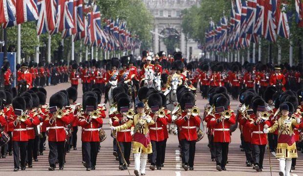 Mall londres drapeau britannique-