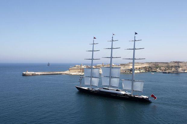 Le Maltese Falcon, yacht de luxe.